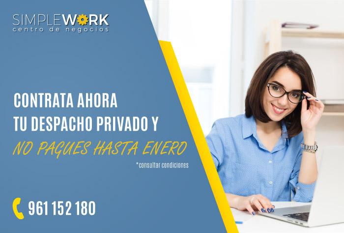 Despachos privados gratis hasta enero