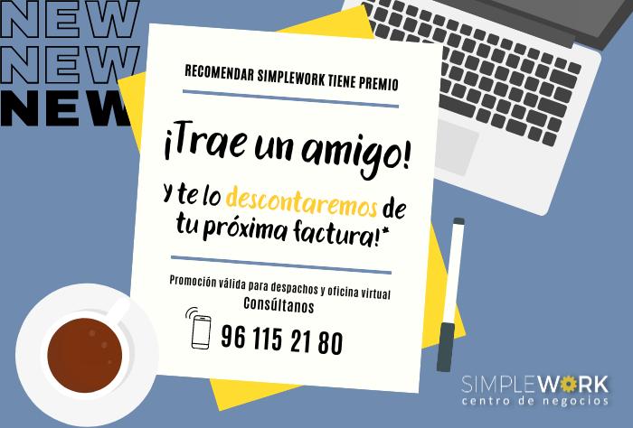 Promo trae un amigo a Despachos Valencia y te descontaremos tu próxima factura